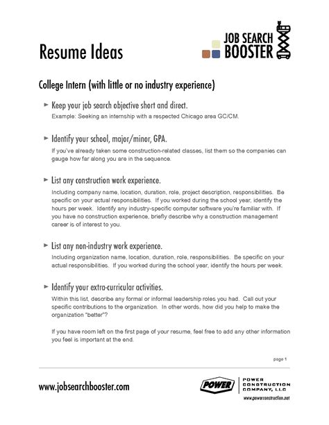 Resume Templates For General Contractor Qualifications Resume General Resume Objective Exles Exles Of Career Objective