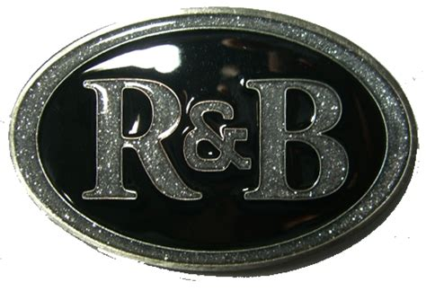 A R A B r b r and b rhythm and blues belt buckle display stand