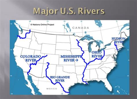 map of us states and major rivers social studies ms nakonechnyy s third grade
