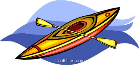 kayak clipart kayak royalty free vector clip illustration vc009078