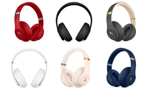 apple headphones colors apple introduces wireless noise cancelling beats studio3