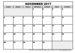 Calendar November 2017 And December 2017 November 2017 Calendar Monthly Calendar 2017