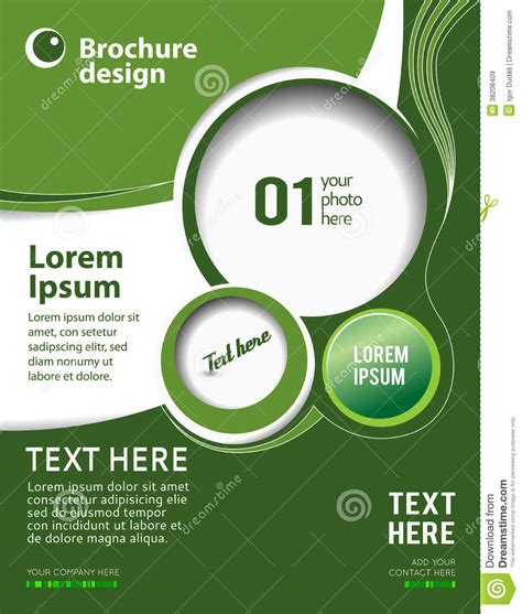 poster design layout download green abstract background stock illustration image of