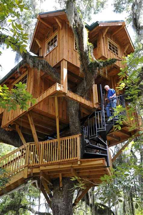 tree house music dream treehouse built overlooking suwannee river featured on diy tv show