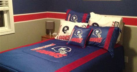 new york giants bedroom new york giants bedroom our home pinterest bedrooms