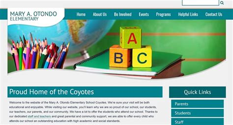 Middle School Website by View Elementary Websites Middle School Websites