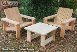 fabriquer salon de jardin en bois qaland