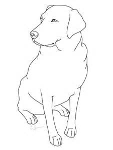 labrador coloring pages golden labrador free coloring pages