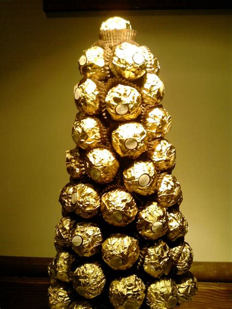 how to make a rocher christmas tree with 48 rocher chocolates 1000 images about ferrero rocher trees on trees table centre pieces and receptions