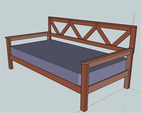 day bed plans day bed plans plans do it yourself furniture