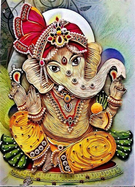quilling tutorial in telugu 389 best images about ganesh boy with the elephant head
