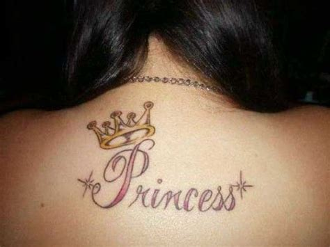inkfamous tattoo best 25 princess crown tattoos ideas on name
