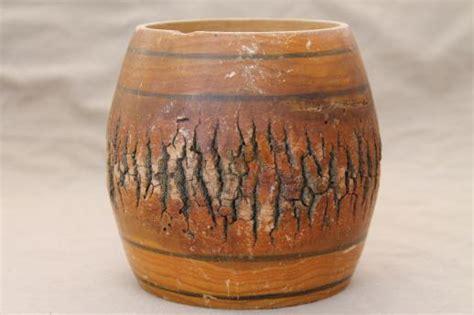 Wood Log Vases by Primitive Tree Lookup Beforebuying