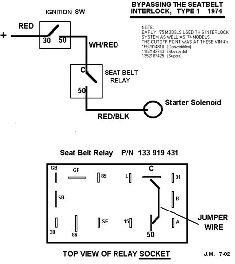 wiring diagram for a 74 beetle get free image