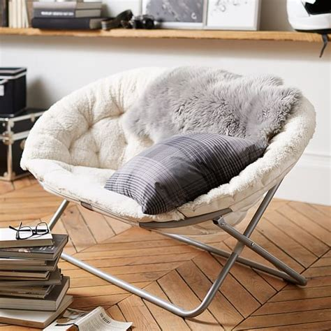round chairs for bedrooms ivory sherpa double hang a round chair pbteen
