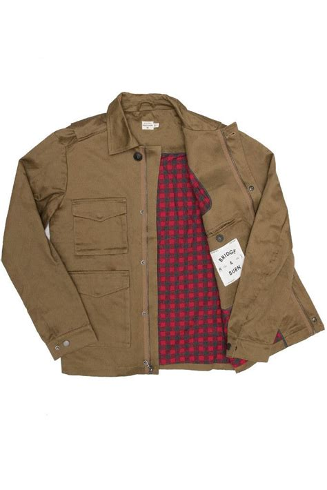 Brown Canvas Jacket brown canvas jacket bridge burn