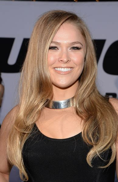 ronda rousey hairstyles ronda rousey long wavy cut newest looks stylebistro