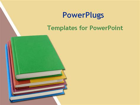 powerpoint templates education powerpoint template about books education yellow