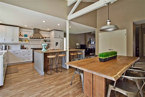 jackson kitchen design balanced textures pairing rustic and industrial elements