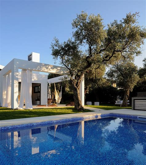 of the week a villa with an olive garden tranio