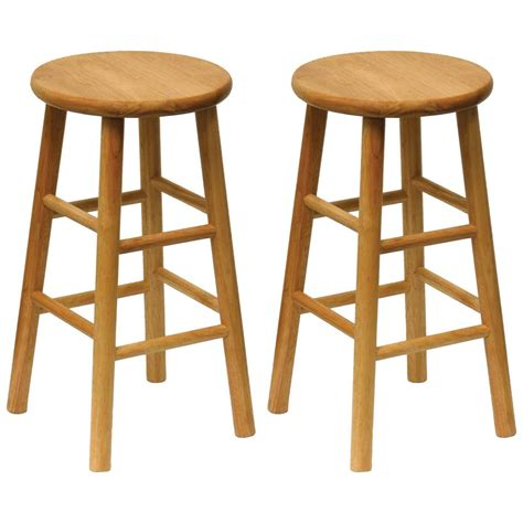 Winsome 24 Bar Stools by Winsome 24 Quot Bar Stools Set Of 2 151025 Kitchen