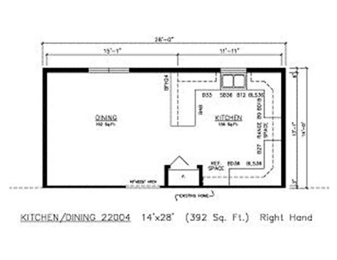 kitchen addition floor plans building modular general housing corporation