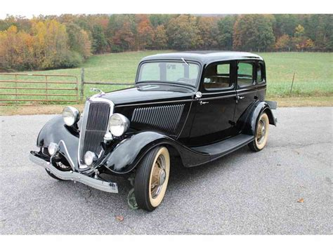 classic cars 4 sale 1934 ford 4 dr sedan for sale classiccars cc 1053468