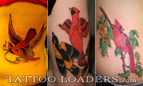 cardinal tattoo fort wayne image of a cardinal bird loaders