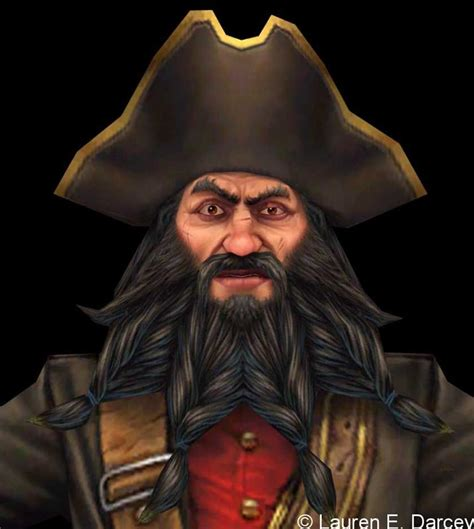 was blackbeard real enc holly w 14