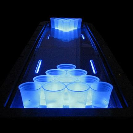 light up pong table light up pong table
