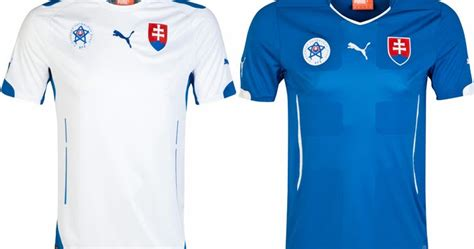 desain jersey roma slovakia 2014 home and away kits released footy headlines