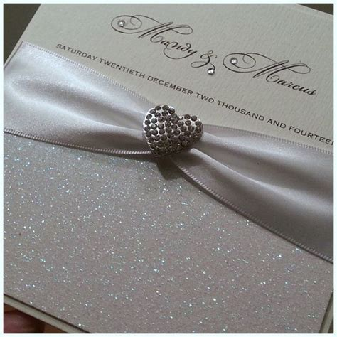 Luxury Handmade Wedding Invitations - handmade luxury wedding invitation the glitzy
