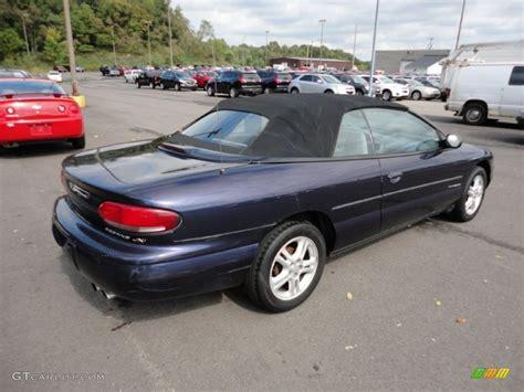 1997 Chrysler Sebring Convertible by Amethyst Pearl 1997 Chrysler Sebring Jxi Convertible