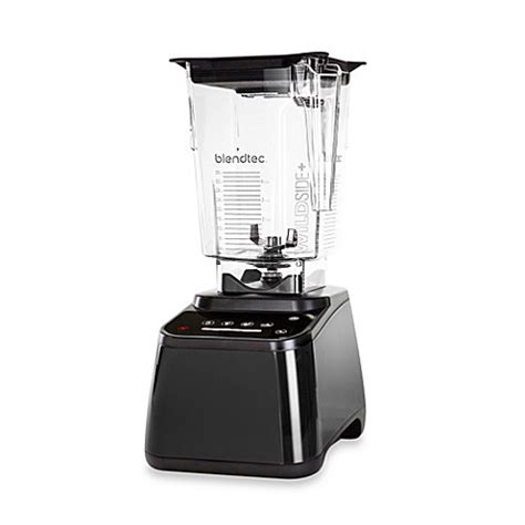 blendtec bed bath and beyond blendtec 174 designer 625 blender with wildside tritan jar