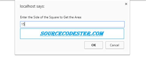 javascript printable area how to get area of the square using javascript free
