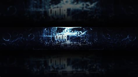 Free Youtube Banner Template Design Photoshop Download 9 Youtube Banner Template 2560x1440