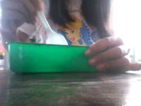 membuat slime dengan 2 bahan cara membuat slime tanpa lem dengan 2 bahan simple youtube