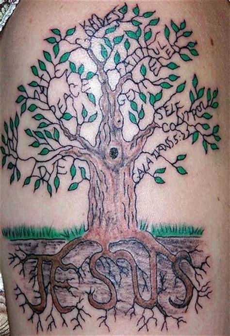 christian tattoo tree jesus roots tattoo of tree tattooimages biz