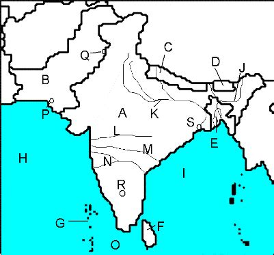 world geography south asia unit  map quiz proprofs quiz