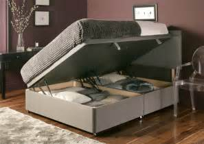 Ottoman Storage Bed Gray Color Modern Convertible Ottoman Bed With Storage And Hardwood Floor Tiles For Saving
