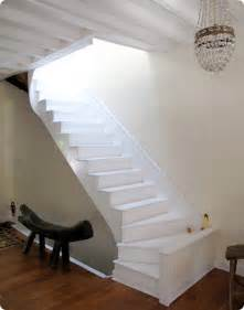weisse treppe stairs white cabana
