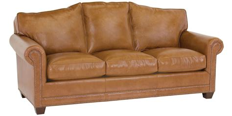 leather camelback sofa leather camel back sofa with nailhead trim club furniture