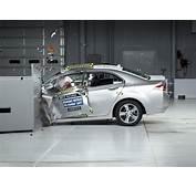 2012 Acura TSX Driver Side Small Overlap IIHS Crash Test