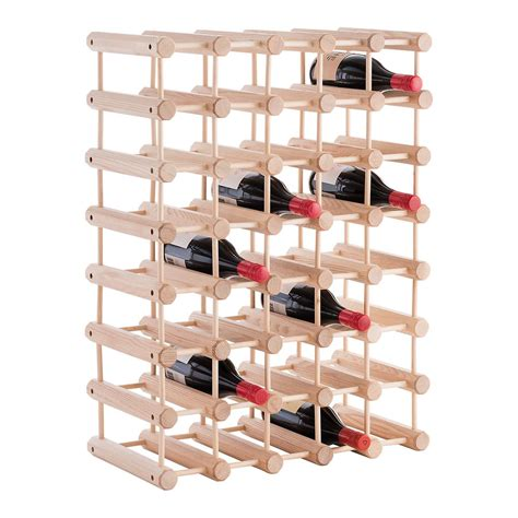 Container Store Wine Rack by J K Hardwood 40 Bottle Wine Rack The Container Store