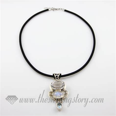 silk wrapped necklaces cord for pendants jewelry wholesale