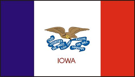 of iowa colors on iowa s flag poem by andrea dietrich