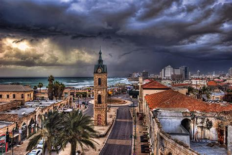 Turkish Home Decor Online by The Jaffa Old Clock Tower Photograph By Ronsho