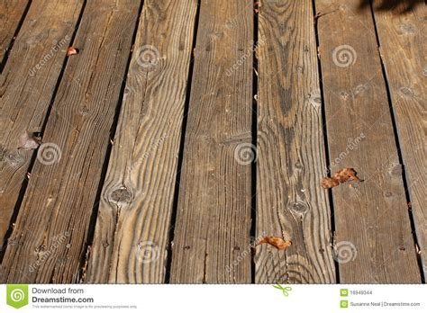 Wood Slats Of An Outdoor Deck Stock Photo   Image: 16949344