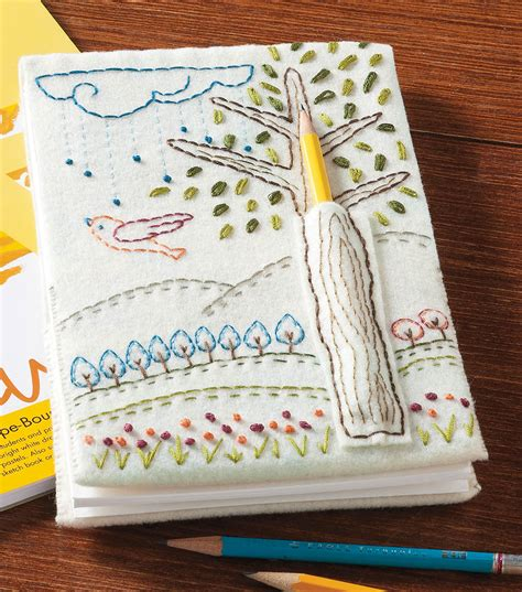 buy doodle notebooks embroidered doodle notebook joann