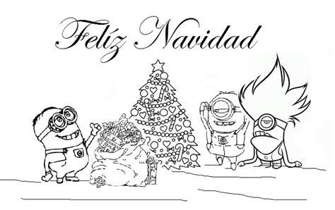 imagenes de navidad para colorear de los minions 56 dibujos de minions para descargar gratis imprimir y